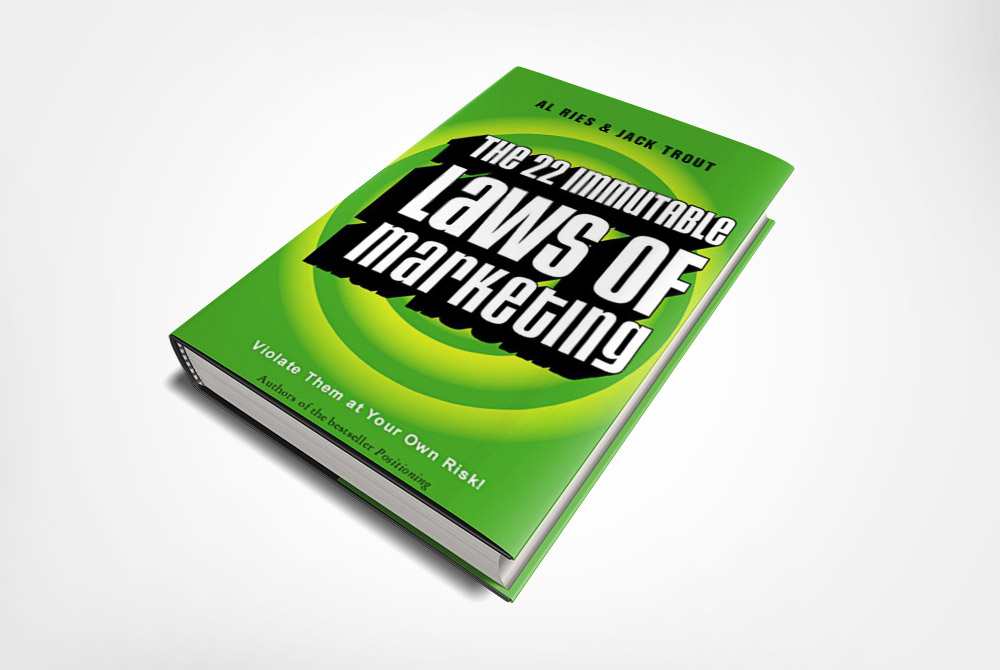 22 Immutable Laws of Marketing Book