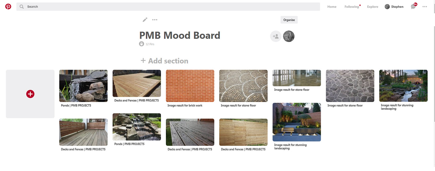 PMB Mood Board