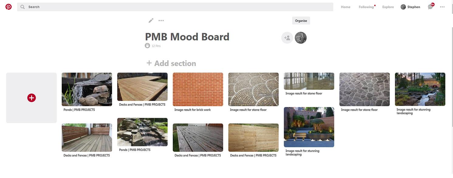 PMB Mood Board